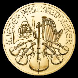 Philharmonique 1/2 OZ or diverses années