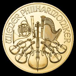 Philharmonique 1/4 OZ or diverses années