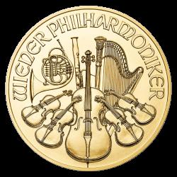 Philharmonique 1/10 OZ or diverses années