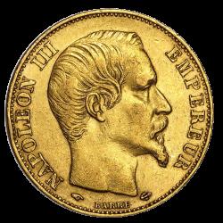 20 francs français or diverses années