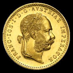 1 ducat autrichien or diverses années