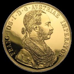 4 ducats autrichiens or diverses années