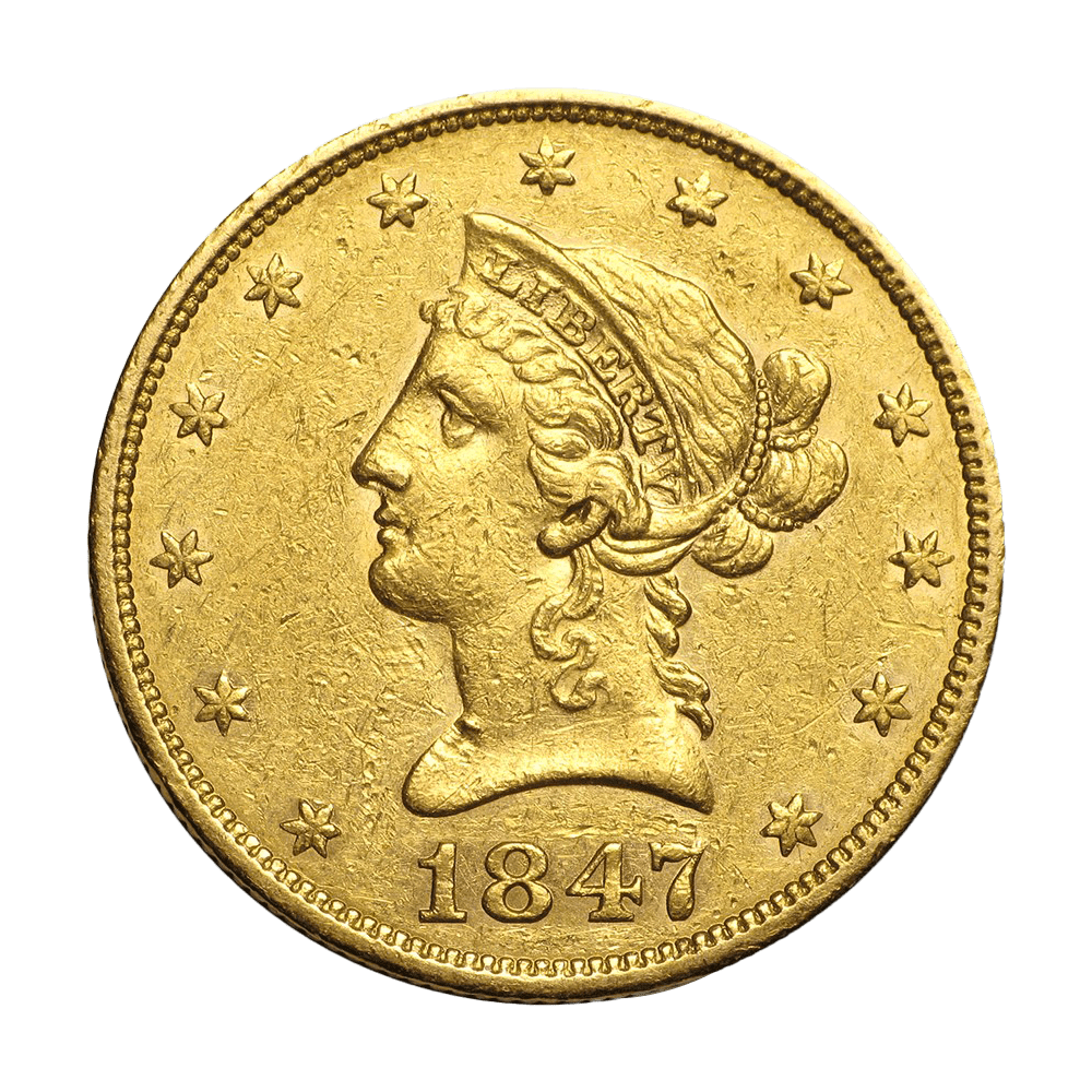10 dollars USA or diverses années
