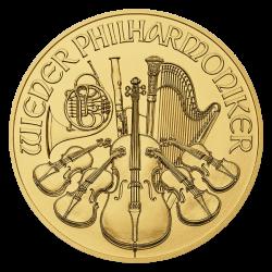 Philharmonique 1 OZ or diverses années