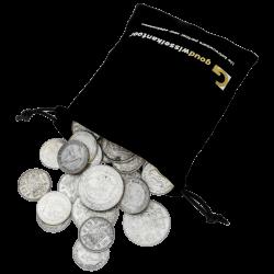 1 kilo net. argent pur en pièces néerlandaises diverses années