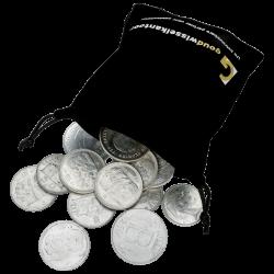 kilo net. argent pur en francs belges diverses années