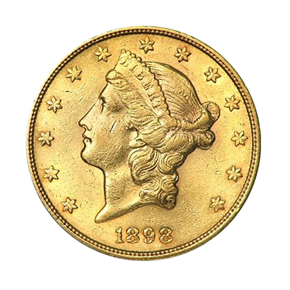 20 dollars USA or diverses années