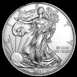 Aigle américain 1 OZ argent 2021