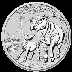 Lunar 1 OZ argent 2021