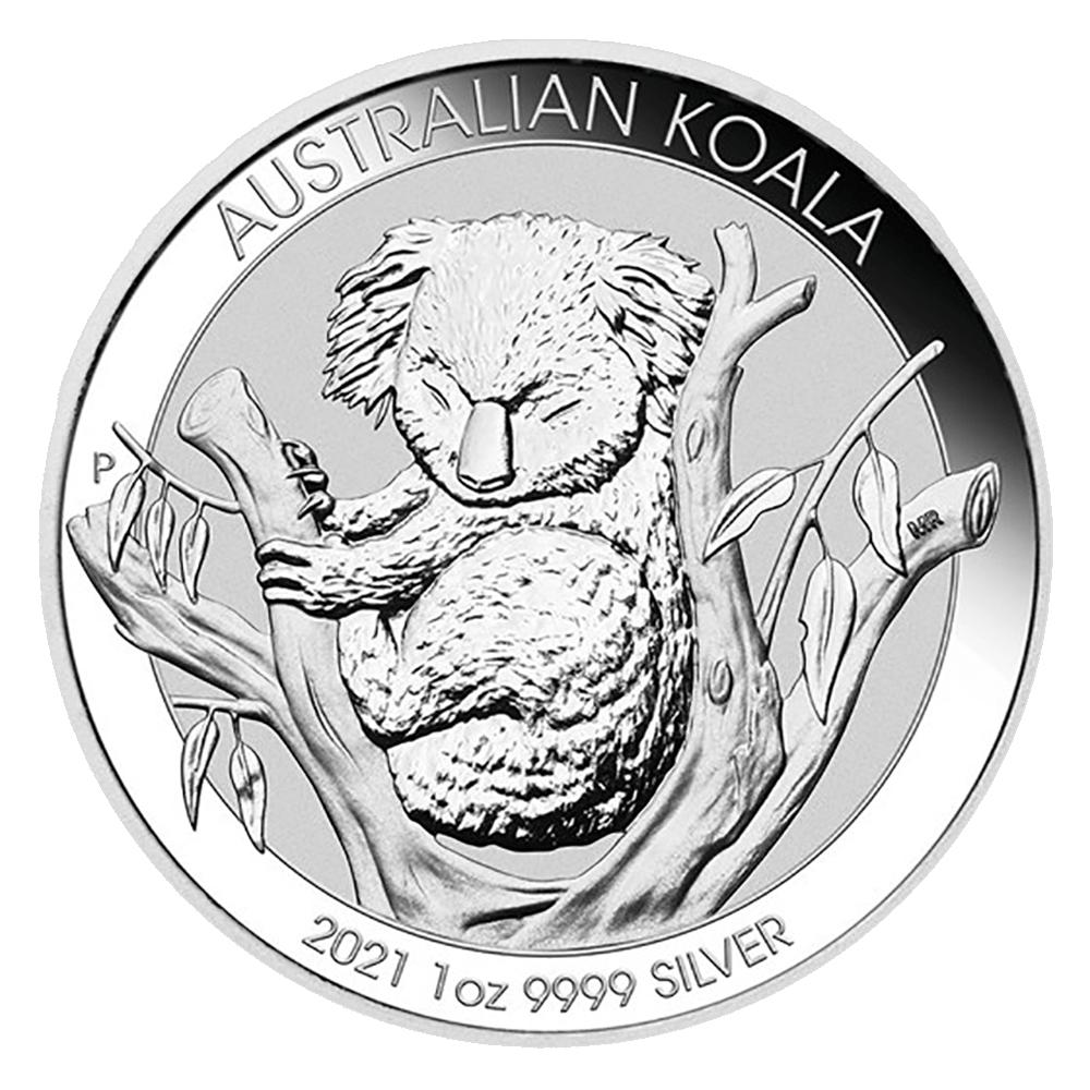 Koala 1 OZ argent 2020