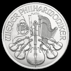 Philharmonique 1 OZ platine 2021